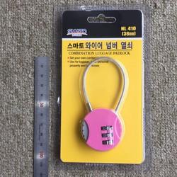 Khóa | Khóa vali Hàn quốc