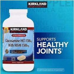 Glucosamine 375 Viên HCL 1500mg Kirkland
