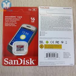 Thẻ Nhớ 16Gb Sandisk - Ultra Class 10