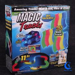 MAGIC_TRACK ĐƯỜNG TÀU ÁNH SÁNG 165pcs