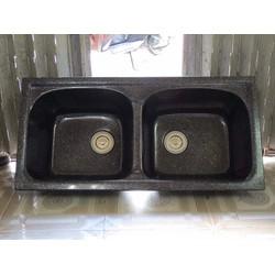 Bồn rửa bát 2 hộc bằng đá nhân tạo – Model CR03