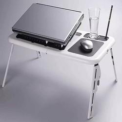 Bàn để laptop đa năng bằng nhựa ABS cao cấp có quạt tản nhiệt