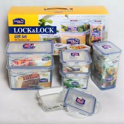 Bộ 13 hộp thực phẩm Lock