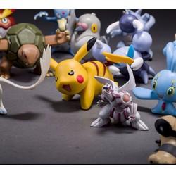 Bộ 24 Tượng Thú Pokemon Go