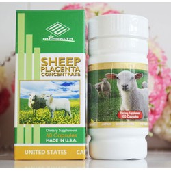 Nhau thai cừu Sheep placenta Mỹ