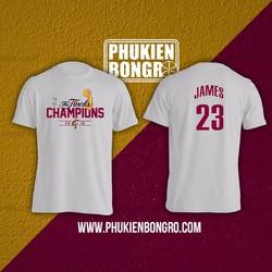 Áo bóng rổ NBA Finals Champions Lebron James