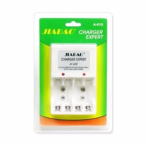 Bộ sạc pin đa năng Jiabao A612 sạc pin 2A,3A, pin 9V