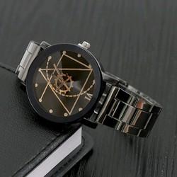 đồng hồ dây thép thích hợp cả nam và nữ