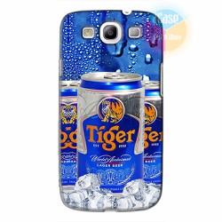Ốp lưng Samsung Galaxy S3 in hình Beer Tiger