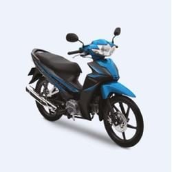 Xe số Honda Blade 110cc mâm thắng đĩa- Đen xanh