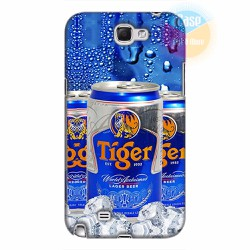 Ốp lưng Samsung Galaxy Note 2  in hình Beer Tiger