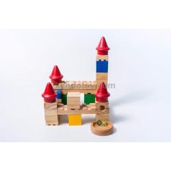 Lâu đài trượt bi   Đồ chơi trẻ em xuất khẩu chất lượng