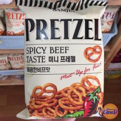 Snack Prezel vị bò cay