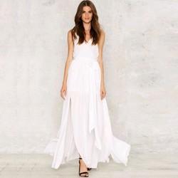 Đầm trắng mùa hè cao cấp