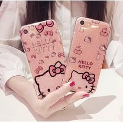 Ốp Kim Tuyến mèo kitty cho iphone5,5s,6,6s,6plus,6s plus,7,7plus