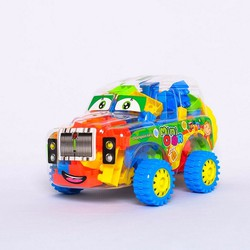 Đồ chơi lắp ráp mô hình trí tuệ xe quân sự nhỏ Lele 8328-2