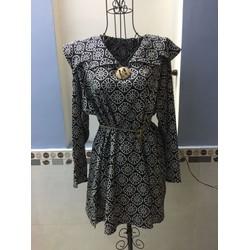 Hàng si: Đầm suông họa tiết
