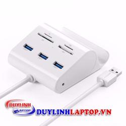 Bộ chia USB 3.0 tích hợp đầu đọc thẻ nhớ chính hãng UGREEN 30342