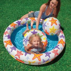 Bể bơi 2 tầng cho bé
