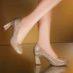 Giày bít kim tuyến thời trang 30-30