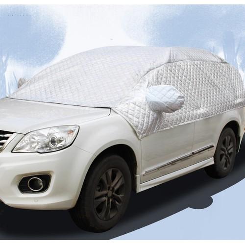 Bạt phủ xe ô tô 5D chất liệu lớp nhôm cách nhiệt lót bông
