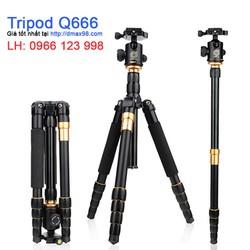 Chân máy ảnh tripod Q666 chính hãng