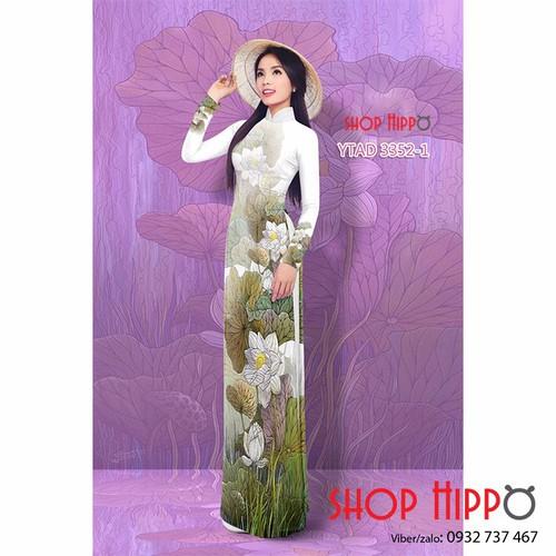 Vải may áo dài tơ hoa sen đẹp - 18915092 , 6036328 , 15_6036328 , 500000 , Vai-may-ao-dai-to-hoa-sen-dep-15_6036328 , sendo.vn , Vải may áo dài tơ hoa sen đẹp