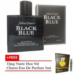 Nước hoa nam Jolie Dion Black Blue EDP 100ml + Nước hoa nữ Charm 3ml