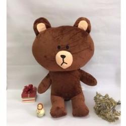 Gấu Brown nâu nhồi bông dễ thương size M