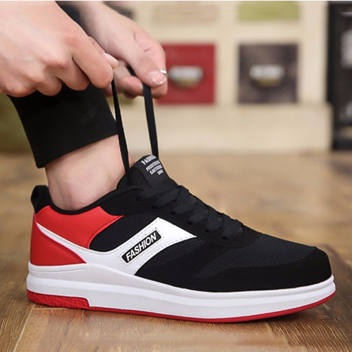 Giày thể thao nam+ Tặng kèm 1 ví da cao cấp Redshoe 6601DE 1