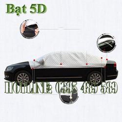 Bạt phủ xe ô tô 5D cách nhiệt chống mưa nắng