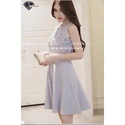 Váy Xòe Hàng Quảng Châu Rất Đẹp