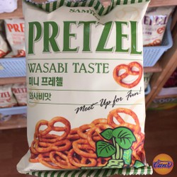 Snack Prezel vị Wasabi