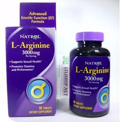 Natrol L-Arginine 3000mg 90 viên tăng cường cơ bắp và chuyện ấy