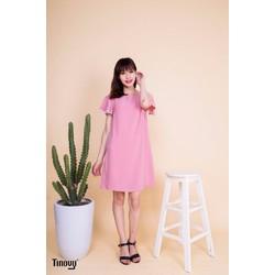 Đầm suông tay bèo trẻ trung nữ tính DS020