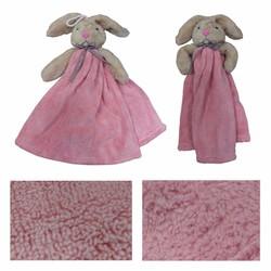 Khăn lau tay 2 lớp hình chú thỏ ngộ nghĩnh