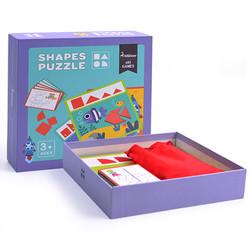 Đồ chơi xếp hình - Shapes Puzzle -  Thương hiệu Mideer