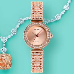 Đồng hồ nữ Skmei đính hạt sang trọng SK116