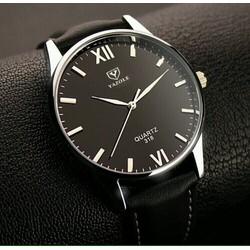 Đồng hồ Yazole nam dây da mềm đẹp