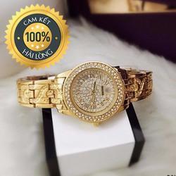 Đồng hồ nữ đẹp giá rẻ mặt đính full đá sang trọng