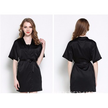 Áo choàng kèm váy ngủ gợi cảm TK836 đen