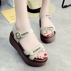 Giày Sandal Nữ cao cấp phong cách thời trang mẫu mới nhất - XS0436