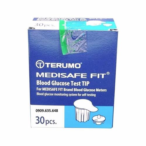 Que thử đường huyết Terumo Medisafe Fit 30 test
