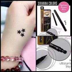 Bút kẻ mắt và bút xăm hình ngôi sao