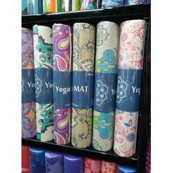 Thảm tập yoga hoa văn Ấn Độ