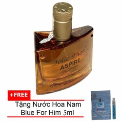 Nước hoa nam Jolie Dion Aspire EDP 60ml + Nước hoa nam For Him 5ml