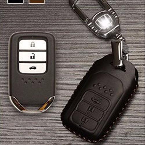 Móc khóa Honda | Bao da bọc chìa khóa ô tô Honda 3 nút