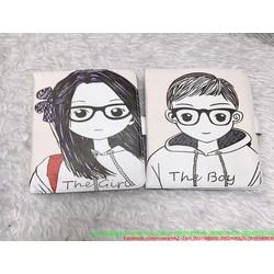 Bao da ipad 2 hình the boy và girl xì teen ipa68