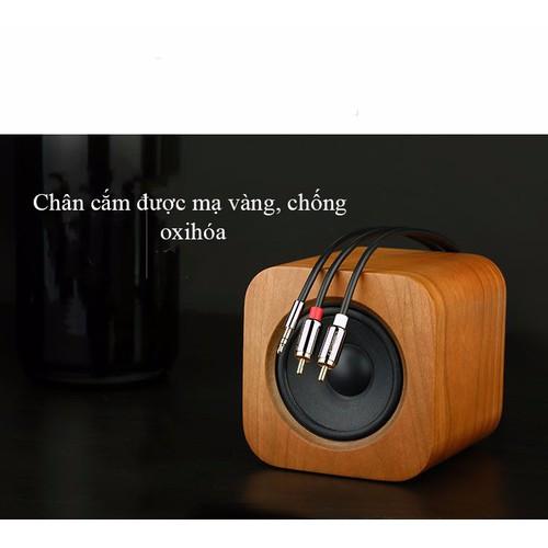 Cáp audio 3.5mm ra 2 đầu RCA 1.5M UGREEN UG-10583