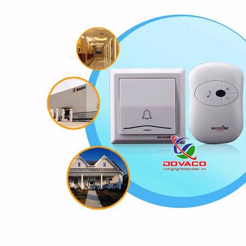 Chuông cửa không dây cao cấp mj-home - 12487197 , 6047102 , 15_6047102 , 428000 , Chuong-cua-khong-day-cao-cap-mj-home-15_6047102 , sendo.vn , Chuông cửa không dây cao cấp mj-home